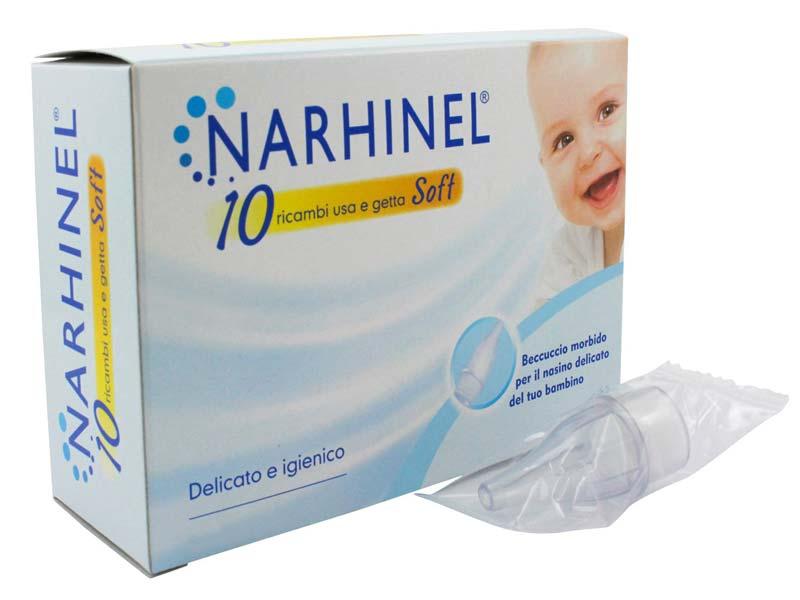 NARHINEL SOFT 10 RICAMBI USA E GETTA