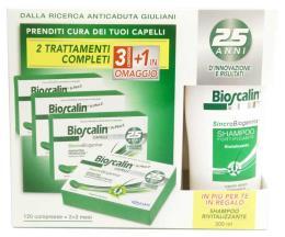 BIOSCALIN R-PLUS 2 120 COMPRESSE + SHAMPOO OMAGGIO