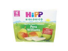 HIPP MERENDA DI FRUTTA GRATTUGIATA PERA WILLIAMS - DAL QUARTO MESE - 4 x 100 G