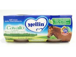 MELLIN OMOGENEIZZATO CAVALLO E PATATE DAL QUARTO MESE 2 x 80 G