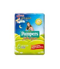 PAMPERS SOLE E LUNA 6 - PANNOLINI EXTRALARGE 15-30 KG - 14 PEZZI