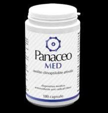 PANACEO MED - ZEOLITE CLINOPTILOLITE ATTIVATA - 180 CAPSULE
