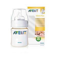AVENT BIBERON 125 ml con tettarella in silicone 0% BPA (senza bisfenolo A)